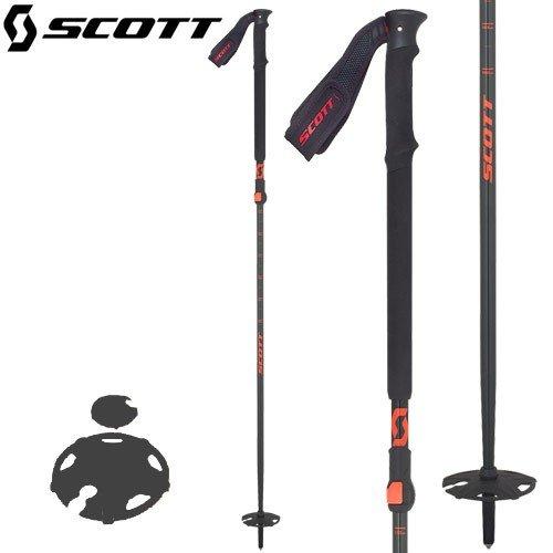 18-19 SCOTT スコットRIOT 18 2-part Ski Poleライオット18 2パーツポールアルミシャフト