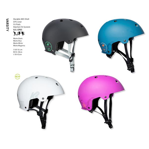 9月末総決算 ポイント10倍 おしゃれ 21 上等 Helmet ケーツーインラインスケートVarsity K2