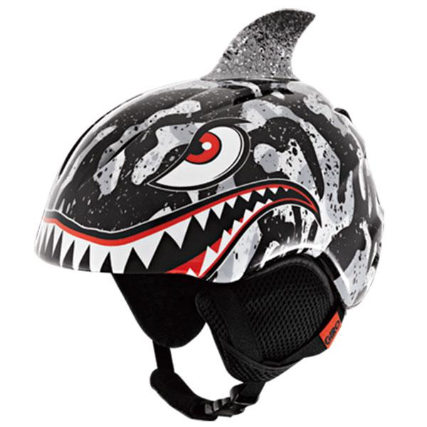 16-17GIRO ジローLAUNCH PLUSBLACK / GREY TIGER SHARKジュニア用