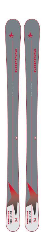 18-19KNEISSL クナイスルRIDE STAR 84+G3 TARGA X-mountain [テレマーク金具付き2点セット]