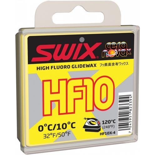 SWIX スウィックスHF10X 40gフッ素高含有ワックス