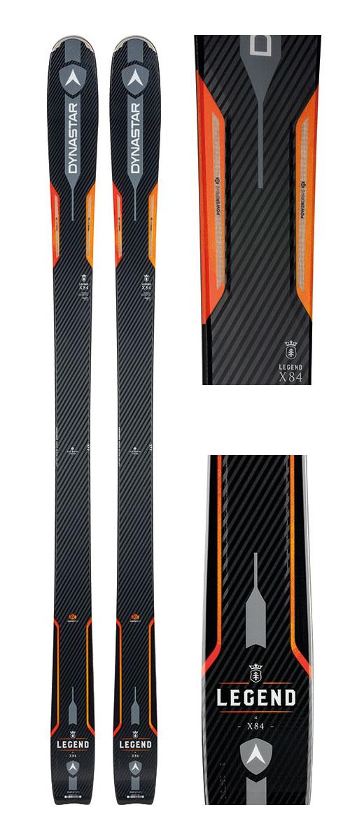 18-19DYNASTAR ディナスターLEGEND X84+G3 TARGA X-mountain [テレマーク金具付き2点セット]