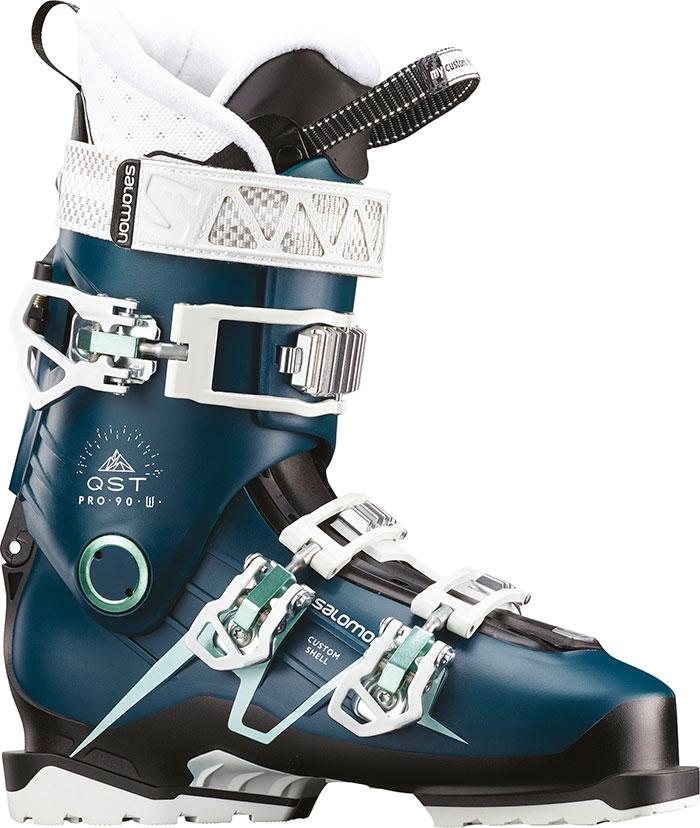 2月11日まで!1注文につき3万円以上のお買い物で10%OFFクーポン利用可!18-19SALOMON サロモンQST PRO 90WQSTプロ90Wアルペン規格対応兼用靴