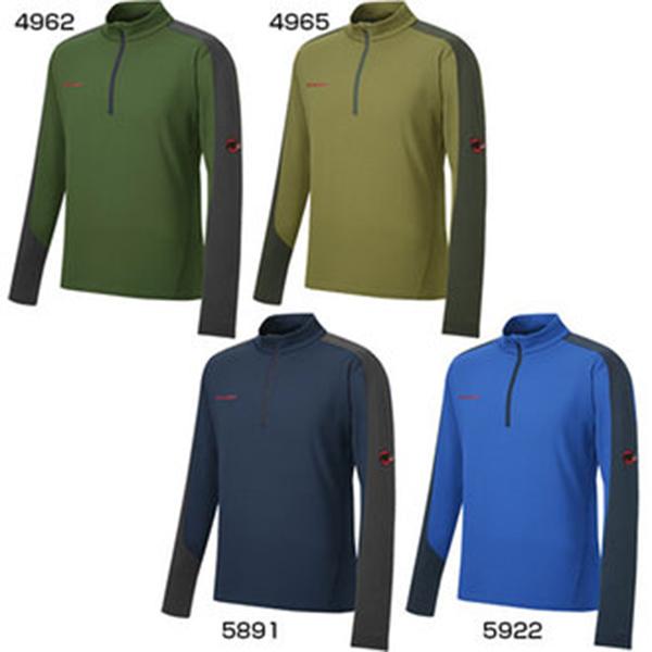 MAMMUT マムートEXCELLENCE Wool Zip Shirts Men 1041-09190