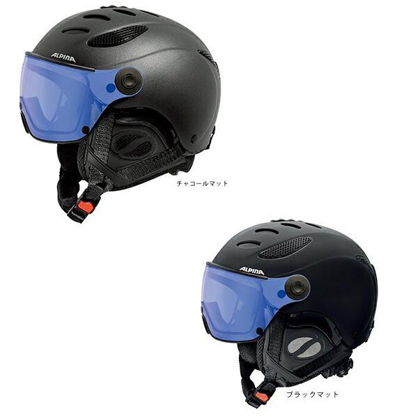 18-19ALPINA アルピナJUMP JV VHMバイザー型ヘルメット