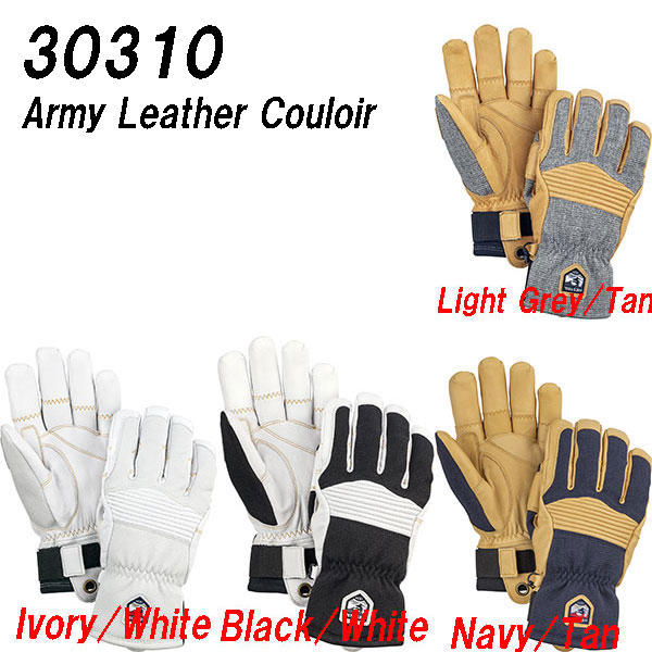 18-19HESTRA ヘストラARMY LEATHER COULOIR30310アーミーレザークロワール