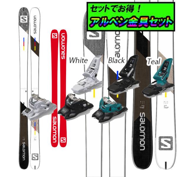 8月20日まで5万円以上の注文でクーポン利用で超お買い得!早期予約受付中アルペン金具セット20-21SALOMON サロモンNFX+Marker SQUIRE 11 ID