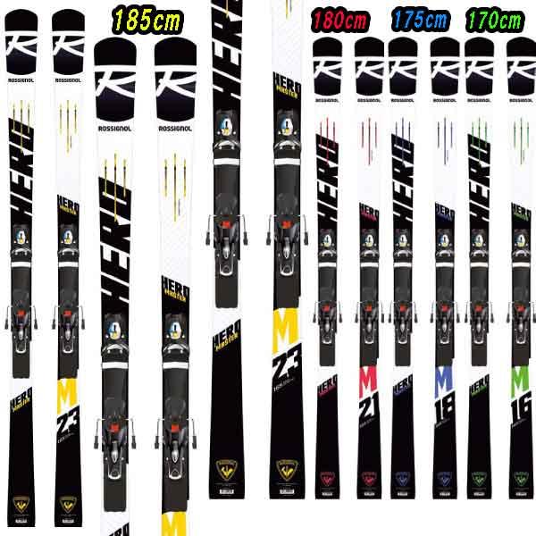 5月10日まで限定特価+ポイント10倍!19-20ROSSIGNOL ロシニョールHERO MASTER (R22) + SPX12RockerRaceBlocker金具セット