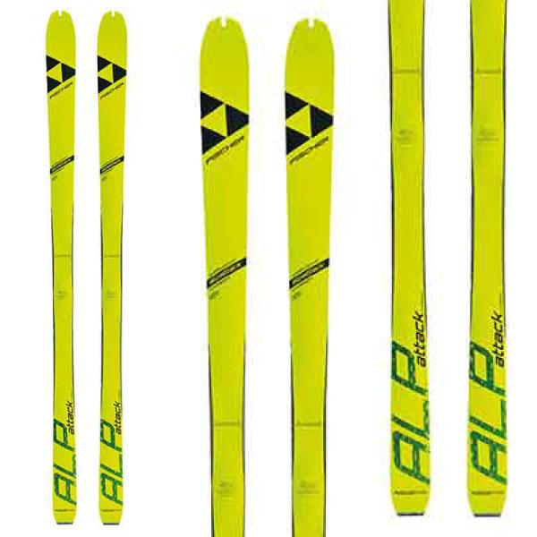 クーポン利用でさらにお買い得!19-20FISCHER フィッシャーALPATTACKアルプアタック山岳スキーレースISMF規定対応モデル