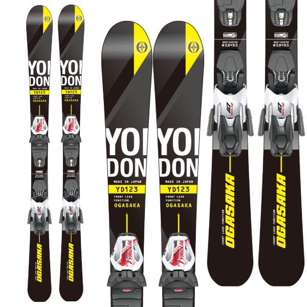 19-20オガサカ OGASAKA YOIDON + Tyrolia SLR10GW金具付ショートスキー
