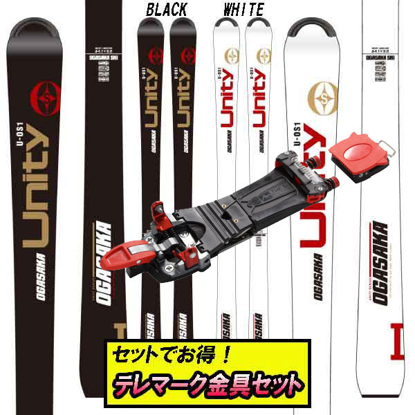 OGASAKA U-OS/1ユニティOS/1+The [テレマーク金具付き2点セット] M MEIDJO テレマーク金具セットでお買い得!クーポン利用でさらにお買い得!19-20オガサカ Equipment 2.1