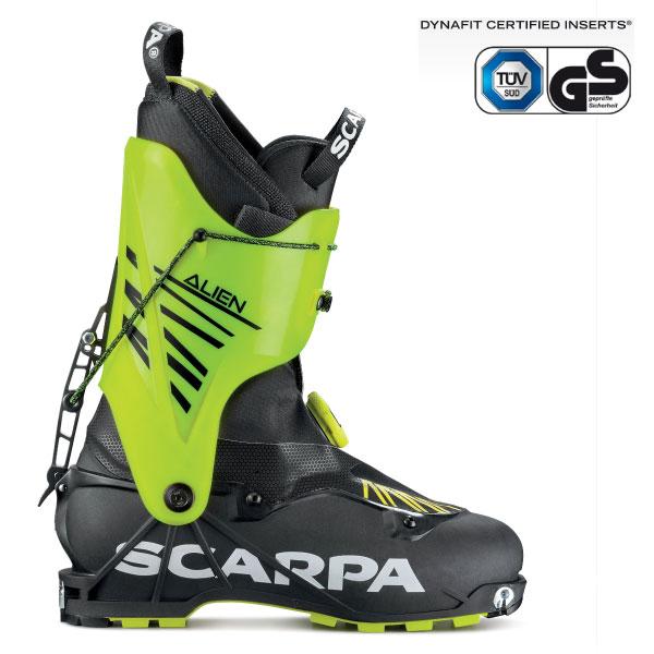 5月10日まで限定特価+ポイント10倍!早期予約受付中20-21SCARPA スカルパALIENエイリアンISMF規格対応山岳レース専用ブーツ