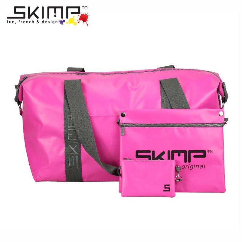 ボストンバッグ 大容量 春 夏 ユニフォーム カメラスタンド 機材 テニスラケット 収納 旅行かばん スポーツ SKIMP Globe-trotter ピンク