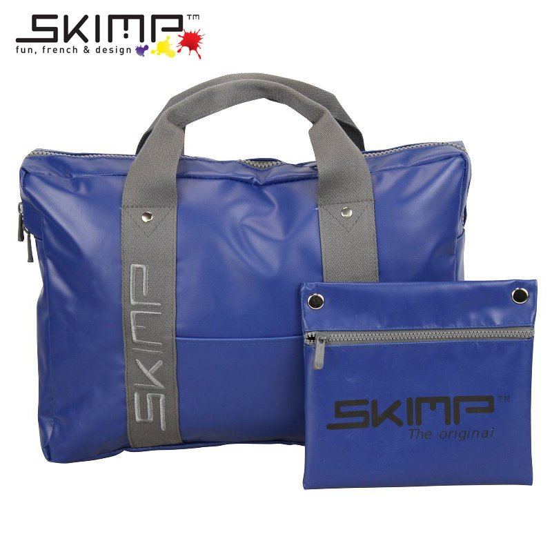 トートバッグ バッグ レディース メンズ 秋 ブリーフケース PCバッグ 手提げかばん 防水 A4 フランスブランド SKIMP BAG Studieux ダークブルー (紺 青)