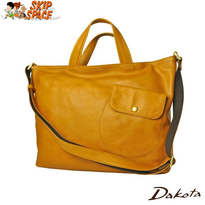Dakota(ダコタ) コルサ 2wayトートバッグ 1032610 マスタード 【送料無料】【レビューで粗品プレゼント】