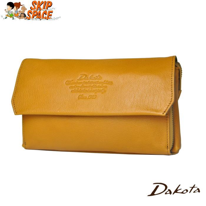 Dakota(ダコタ) アミューズ 2wayセカンンドフラップポーチ 1032460 マスタード 【送料無料】【レビューで粗品プレゼント】