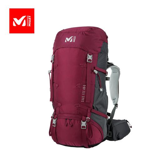 MILLET ミレー SAAS FEE 40+5 LD 20SS サースフェー 7810 VELVET RED ヴェルヴェットレッド ザック 登山 レディース トレッキング MIS0639