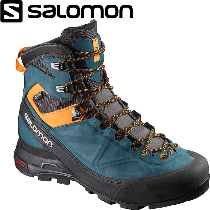 [11/16まで 10%OFFクーポンあり] [送料無料] SALOMON サロモン X ALP MTN GTX〔 メンズ トレッキング 登山靴 GORE-TEX 2018SS 〕 (ファントム):L39840400 [クリアランスpt0]