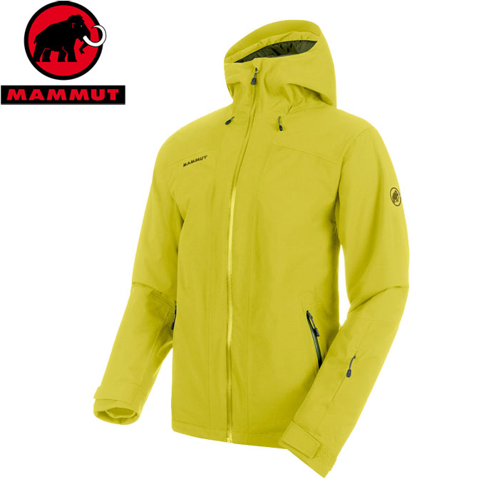 MAMMUT マムート Andalo HS Thermo Hooded Jacket Men お買い得 ジャケット お買い得 ジャケット (canary-clover):1010-25021