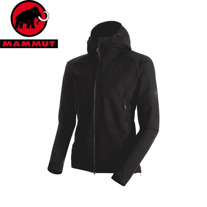 MAMMUT マムート Runbold Trail SO Hooded Jacket AF Men お買い得 ジャケット お買い得 ジャケット (black):1011-23001