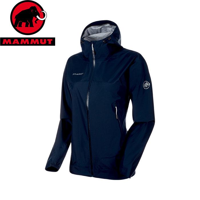MAMMUT マムート Masao Light HS Hooded Jacket AF Women レディース ジャケット 2019 SS (peacoat):1010-27110