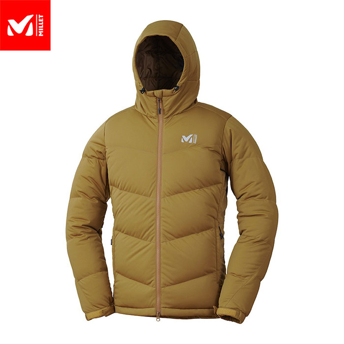 MILLET ミレー MONT MAUDIT STRETCH DOWN JKT ダウン ジャケット メンズ (BROWN):MIV01746