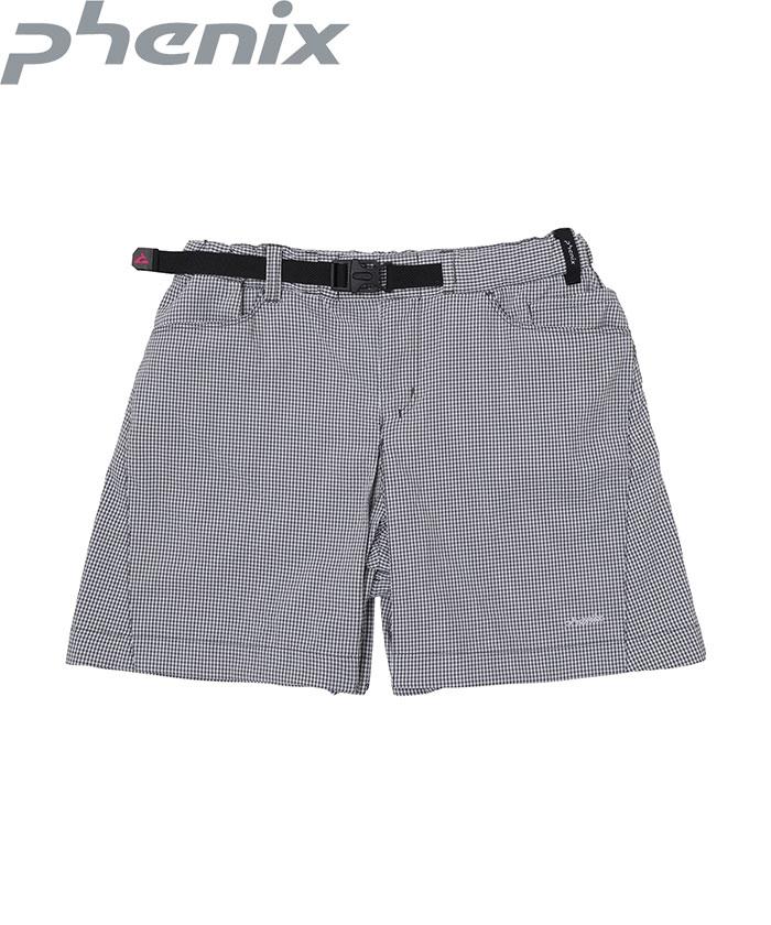ポイント5倍!12/19AMまで!PHENIX フェニックス Airy Short Pants WOMENS 短パン ショートパンツ (WT):PH922SP70