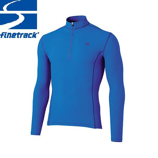 finetrack ファイントラック メンズ ラピッドラッシュジップネック Col:GB アンダーウエア ジップアップ スポーツ 吸汗 速乾 撥水:FWM0422