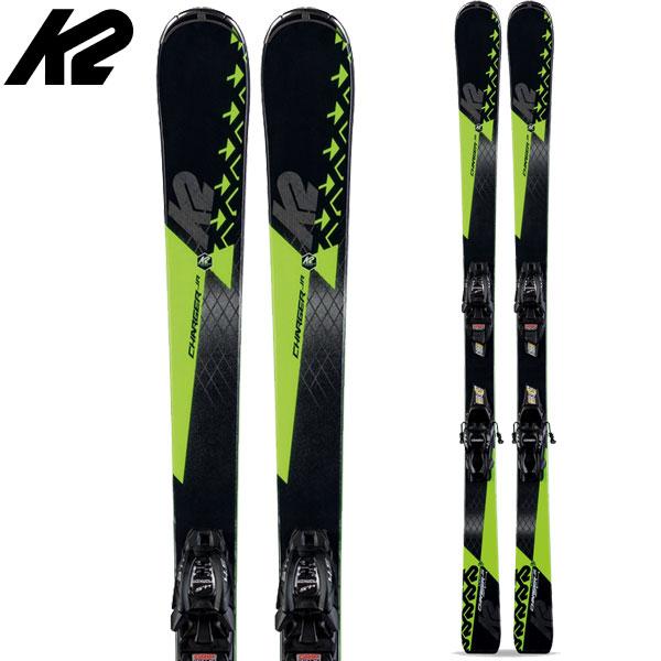 2000円引きクーポン対象!K2 ケーツー 19-20 スキー Charger Jr チャージャージュニア (金具付き) 2020 ski ジュニア スキー板: