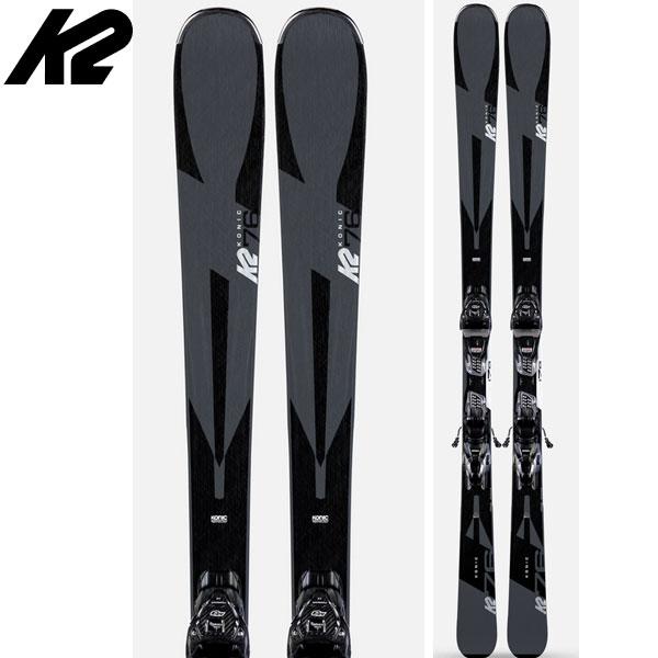 K2 ケーツー 19-20 スキー Konic 76 コニック 76 (金具付き) 2020 スキー板 オールマウンテン: