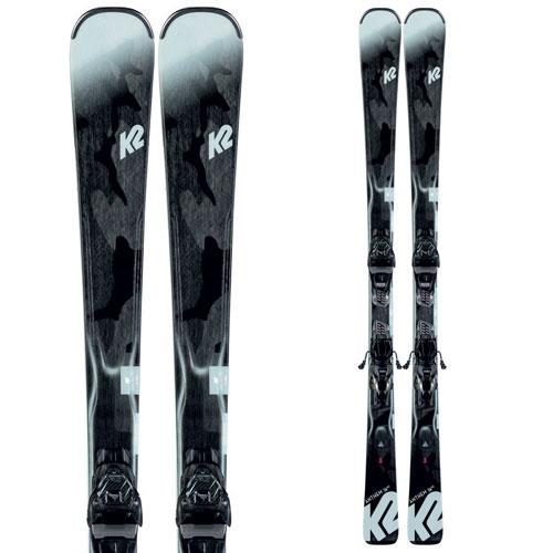 K2 ケーツー 19-20 スキー ANTHEM 74 HS アンセム 74 HS (金具付き) スキー板 2020 レディース オールラウンド (onecolor):