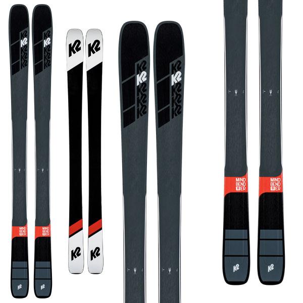 K2 ケーツー 19-20 スキー MINDBENDER 90Ti マインドベンダー 90Ti(板のみ) スキー板 2020 オールマウンテン ロッカー (onecolor):