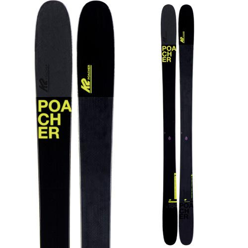 K2 ケーツー 19-20 スキー POACHER ポーチャー(板のみ) スキー板 2020 フリースタイル フリーライド (onecolor):
