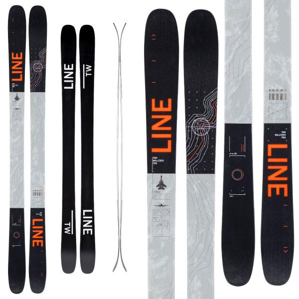 LINE ライン 19-20 スキー TOM WALLISCH PRO トムウォリッシュ プロ (板のみ) スキー板 2020 フリースタイル オールマウンテン (onecolor):