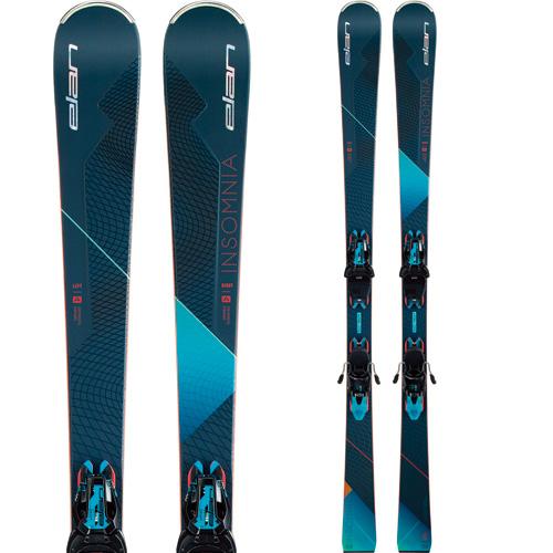 ELAN エラン 19-20 スキー 2020 INSOMNIA Power Shift インソムニア (金具付き) オールラウンド スキー板 レディース (onecolor):