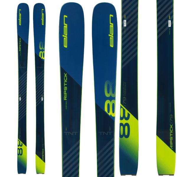ELAN エラン 19-20 スキー 2020 RIPSTICK 88 リップスティック88 (板のみ) オールマウンテン スキー板 (onecolor):