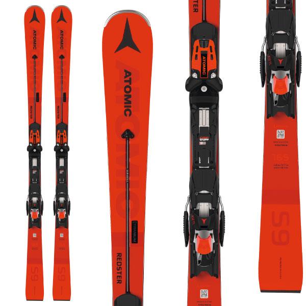 ATOMIC アトミック 19-20 スキー 2020 REDSTER S9 レッドスター (金具付き) スキー板 レーシング デモ ショート (onecolor):