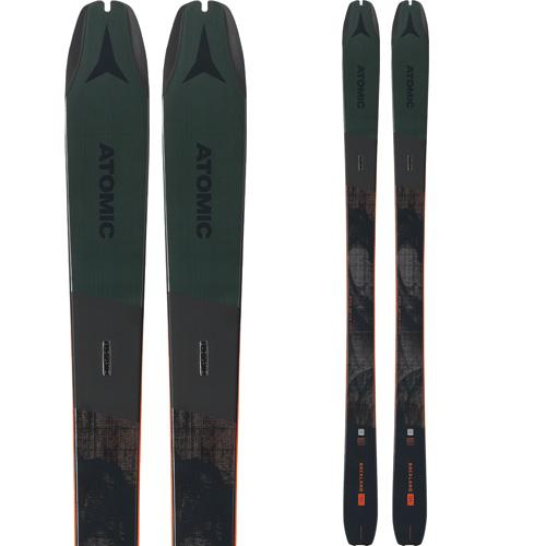 ATOMIC アトミック 19-20 スキー 2020 BACKLAND 95 バックランド 95 (板のみ) スキー板 オールマウンテン (onecolor):