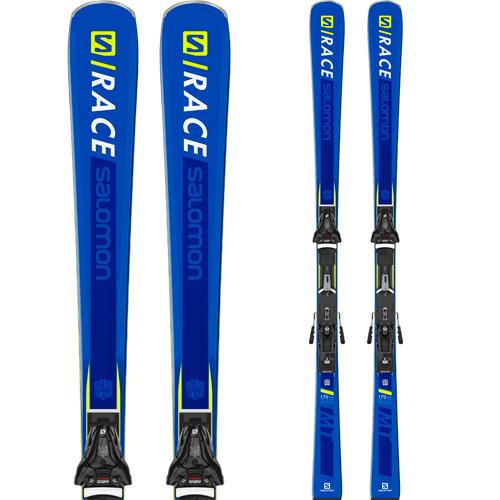 SALOMON サロモン 19-20 スキー 2020 S/RACE MT エスレース (金具付き) スキー板 デモ オールラウンド (onecolor):