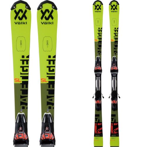 VOLKL フォルクル 19-20 スキー 2020 RACETIGER レースタイガー SL WC D (金具付き) スキー板 SL レーシング (onecolor):
