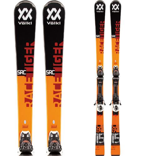 VOLKL フォルクル 19-20 スキー 2020 RACETIGER レースタイガー SRC DEMO (金具付き) スキー板 デモ オールラウンド (onecolor):