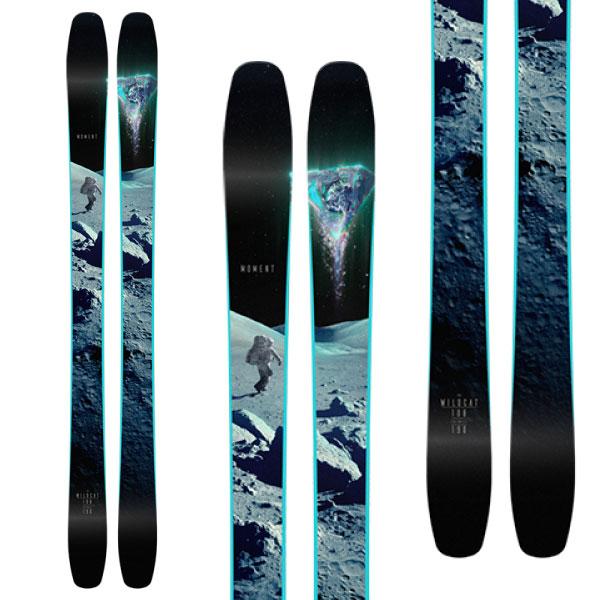 MOMENT モーメント 19-20 スキー 2020 WILDCAT 108 ワイルドキャット 108 (板のみ) スキー板 パウダー ロッカー: [34SSスキー]