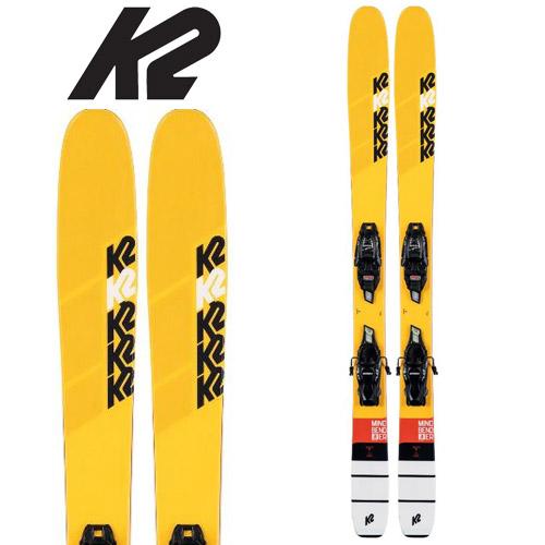 K2 ケーツー 19-20 スキー MINDBENDER JR FDT マインドベンダー ジュニア (金具付き) 2020 ski ジュニアスキー: