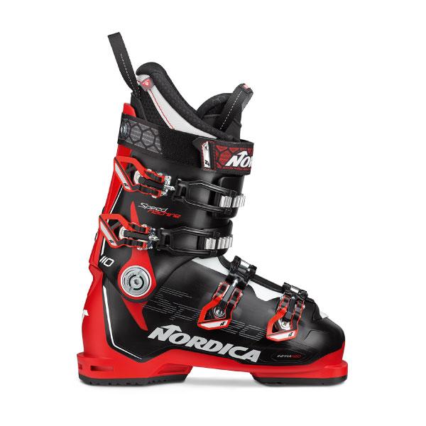 NORDICA ノルディカ 19-20 スキーブーツ 2020 SPEEDMACHINE 110 スピードマシーン 基礎 オールラウンド (BK-RED-WHITE):