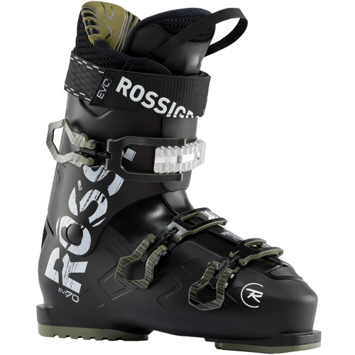 ROSSIGNOL ロシニョール 19-20 スキーブーツ 2020 EVO 70 BK/KHAKI オールマウンテン エントリー 初中級 (BK-KHAKI): [34SSブーツ]
