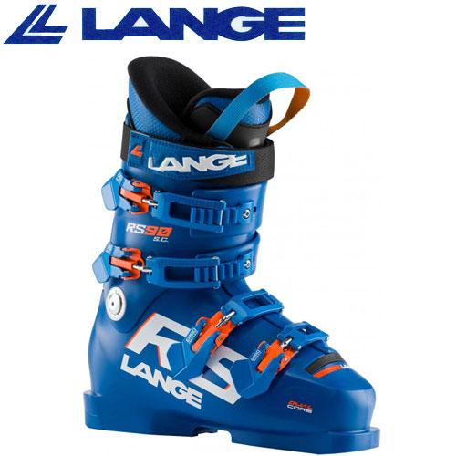 LANGE ラング 19-20 スキーブーツ 2020 RS 90 SC アールエス 90 ジュニア スキーブーツ レーシング (BLUE):