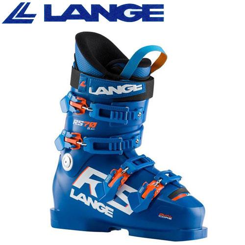 LANGE ラング 19-20 スキーブーツ 2020 RS 70 SC アールエス 70 ジュニア スキーブーツ レーシング (BLUE):
