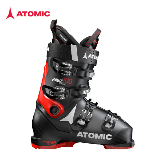 ATOMIC アトミック 19-20 スキーブーツ 2020 HAWX PRIME 100 BLACK/RED ホークスプライム アルペン オールマウンテン 軽量:AE5018040