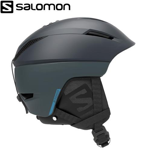 SALOMON サロモン 19-20 PIONEER C AIR (Dree/Blue) へルメット パイオニアカスタムエアー スキーヘルメット 2020:L408944 [34SS_HEL]