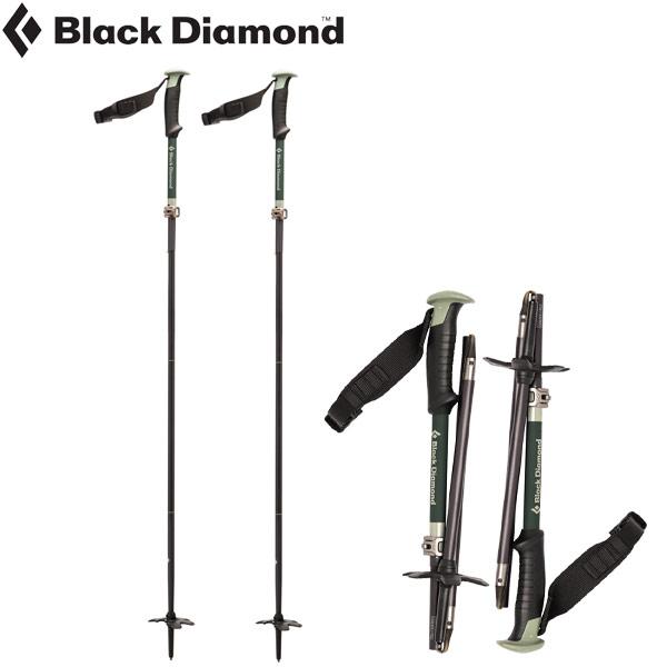 Black Diamond ブラックダイヤモンド コンパクターポール スキーポール 伸縮 バックカントリー: